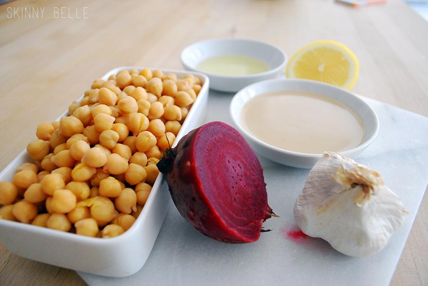 Pink-Hummus